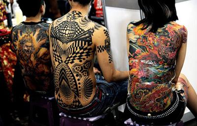 Самые сложные тату