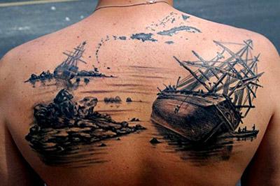 Татуировка корабль значение