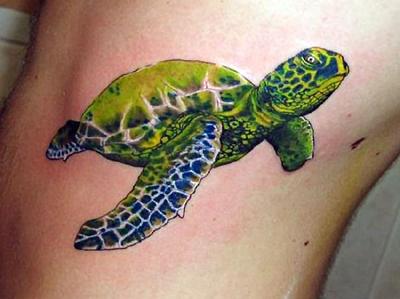 Удаление зелёной татуировки
