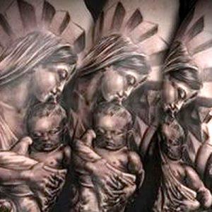 Значение татуировки Дева Мария