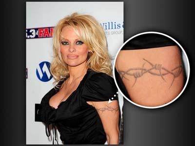 Татуировки Памелы Андерсон