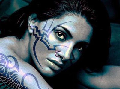 Татуировки у женщин